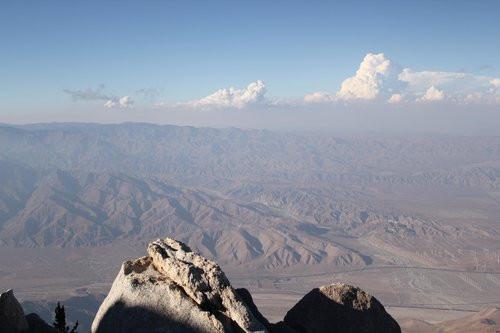 Morongo Valley from Mt. San Jacinto
