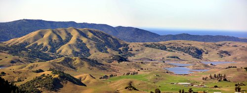 Black Mtn. and Nicasio Reservoir