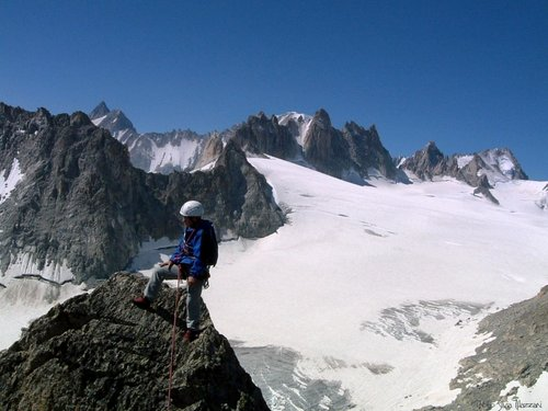 Summit of Aiguille d'Orny