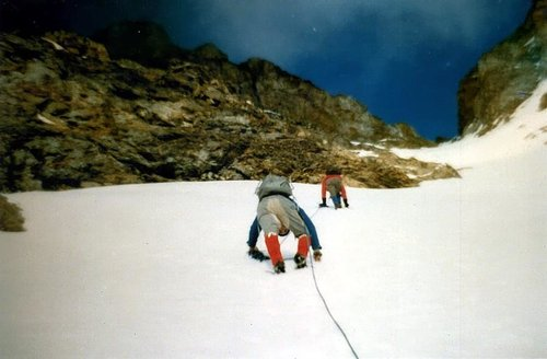 Tsaat a l'Etsena  First Winter on East Summit 1974