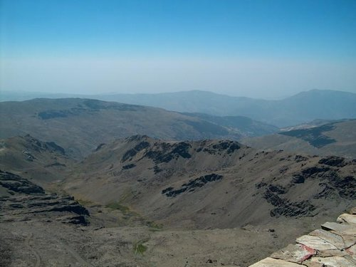 View from Veleta into soutern...
