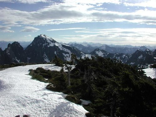 Mt. Index from summit of...
