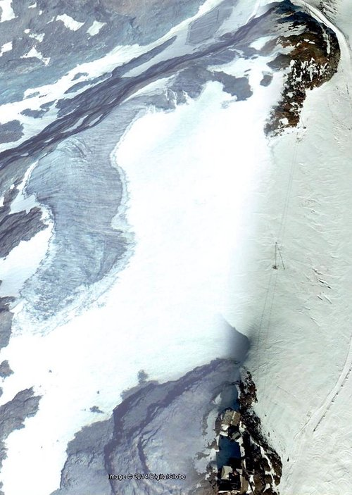 Google Earth  Teòdulo Glacier