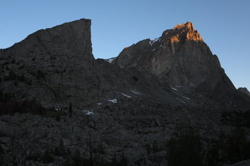 Sundance Pinnacle and Warbonnet Peak