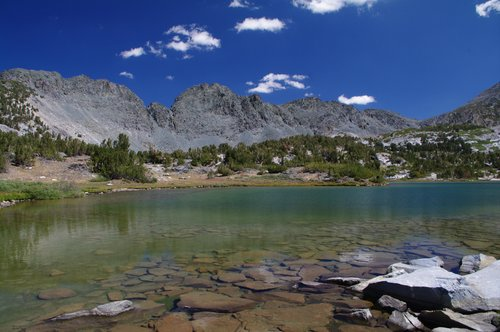 southern side of the Mammoth Crest from Deer Lakes