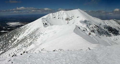 Humphreys Peak viewed from...