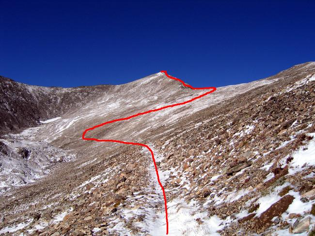 Crystal Peak Route Photo from...