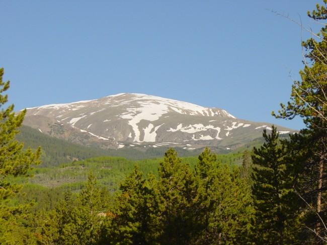 Mt. Elbert from the east at...