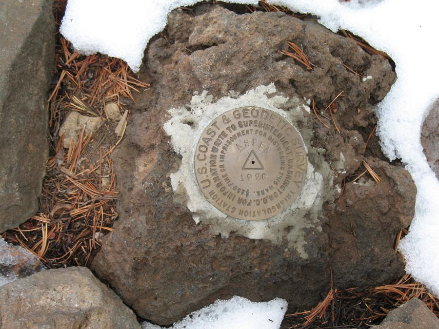 Aspen Butte Benchmark (OR)