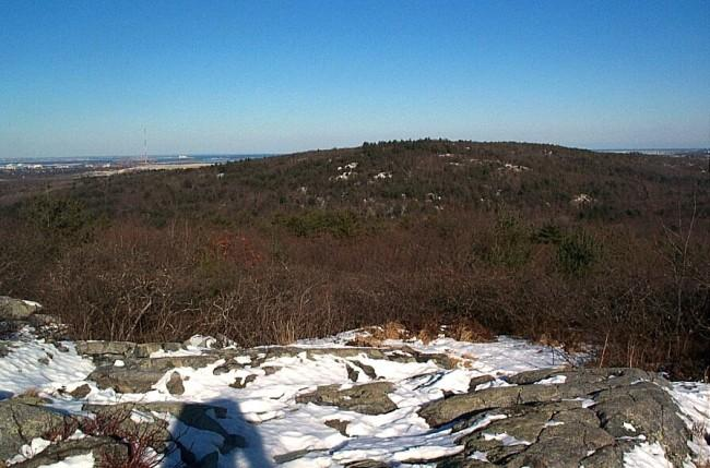 From Buck Hill (1/25/04).