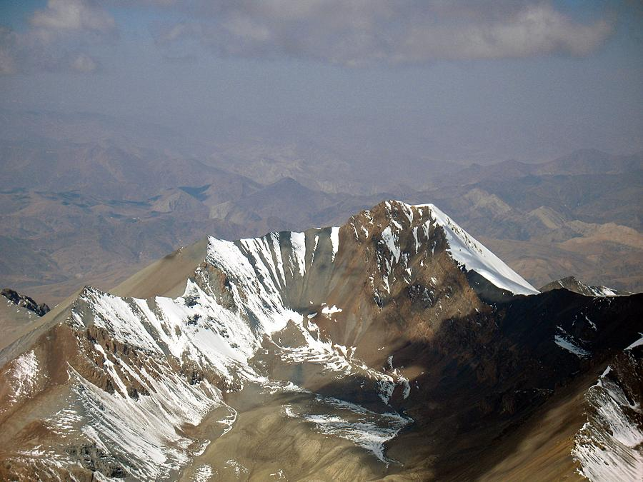Jitanzhoma seen from 6550m