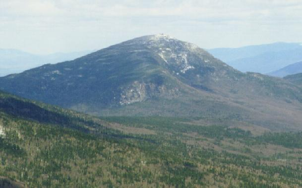 Mt Garfield from the summit...
