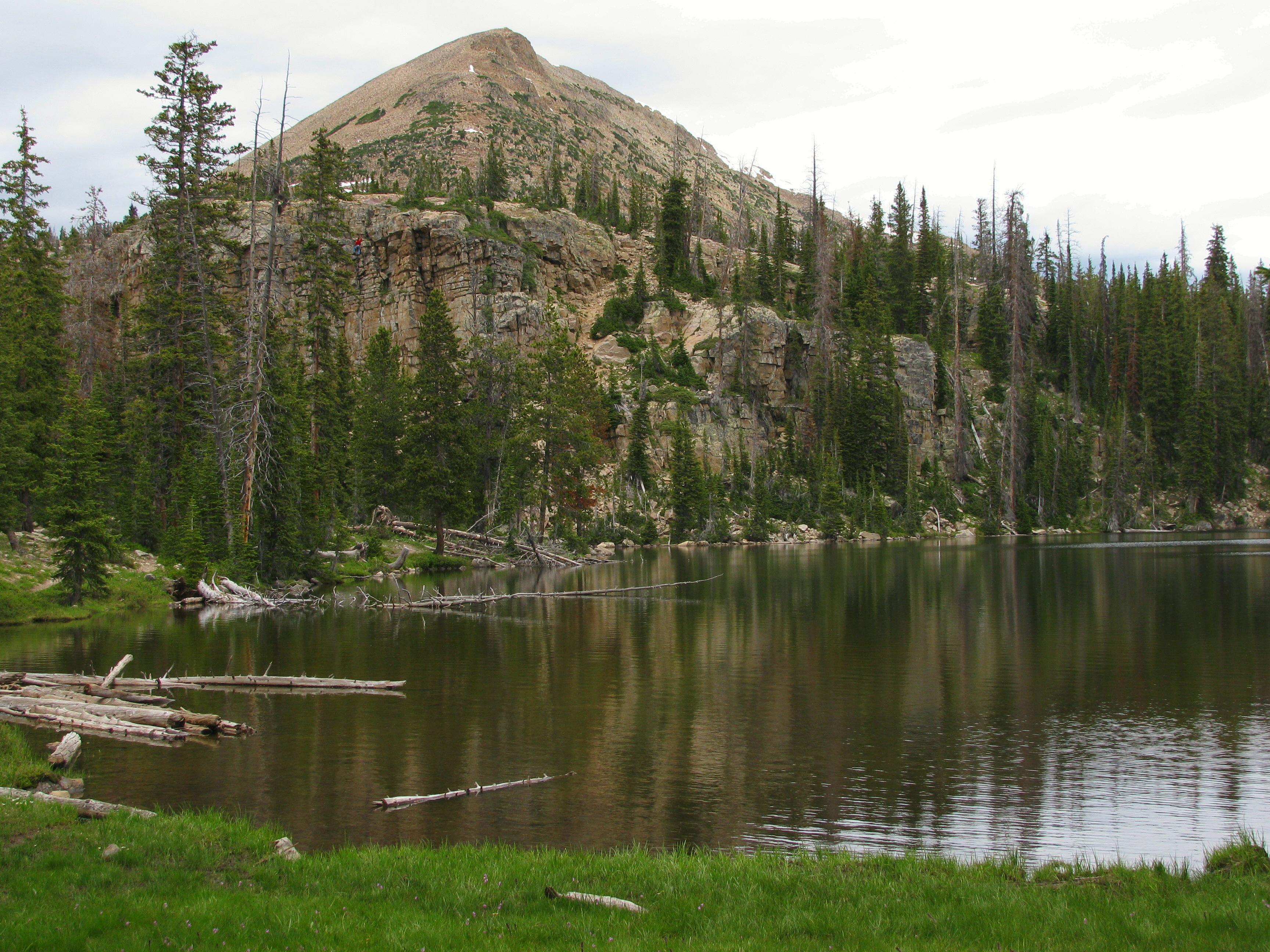 Mount Watson from Cliff Lake