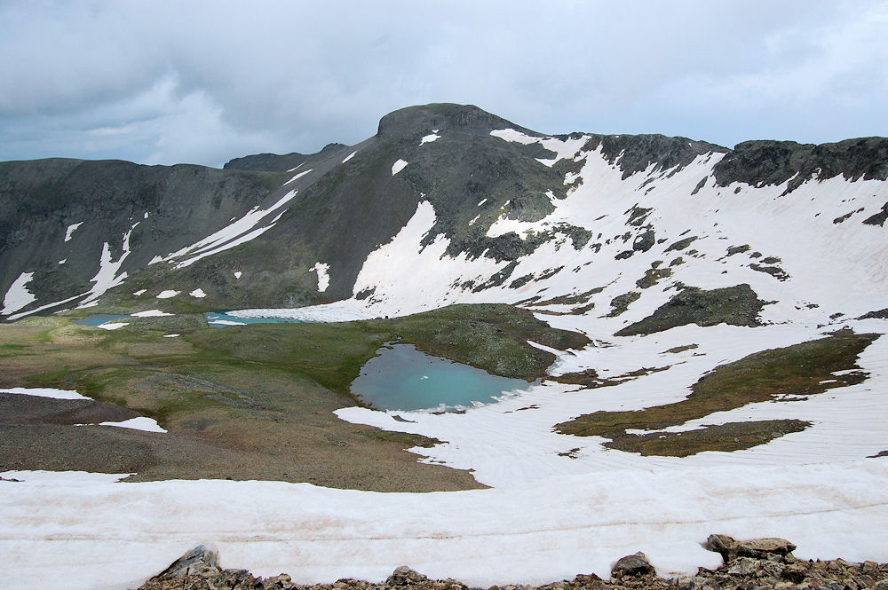 Five-Lakes basin
