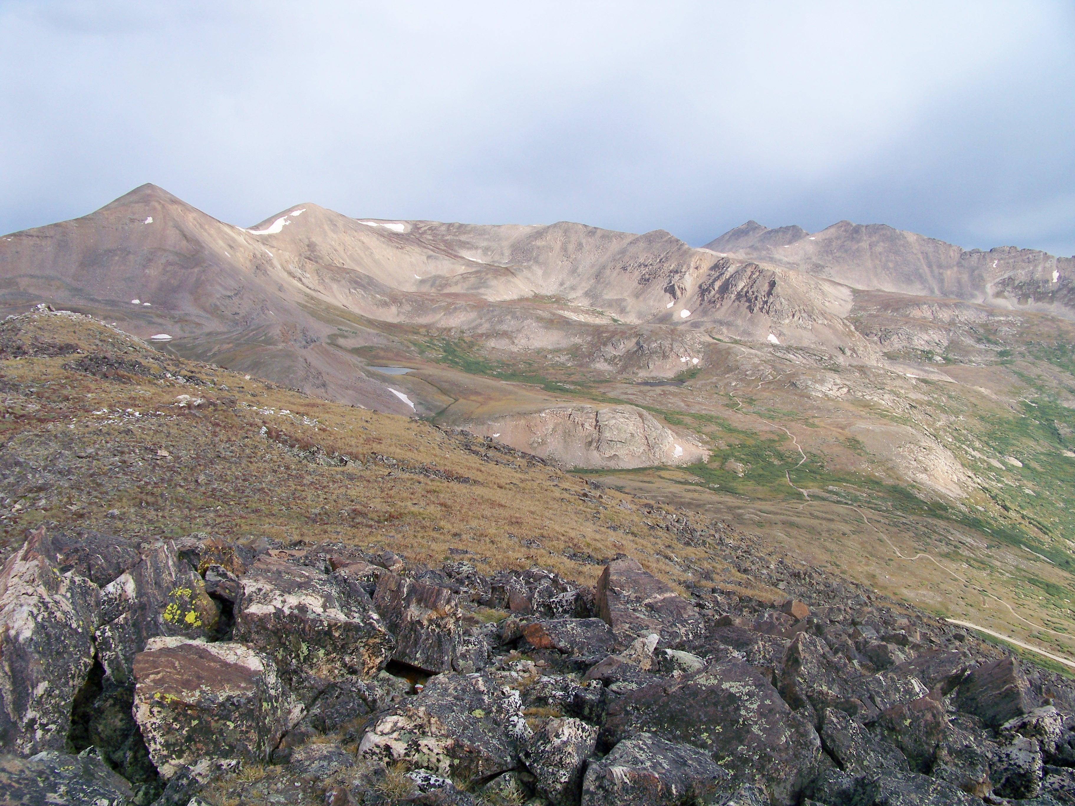 August Snowclouds, Upper Mosquito Creek Basin
