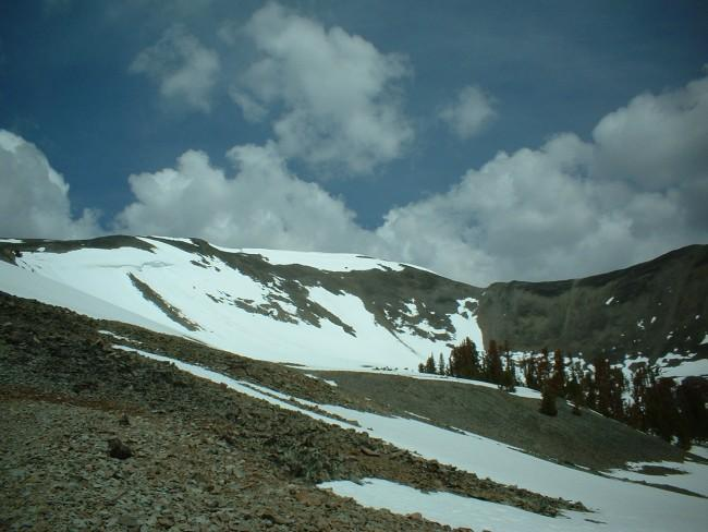 A view of Avalanche Peak...