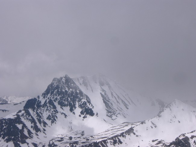 The north face of Imp peak...