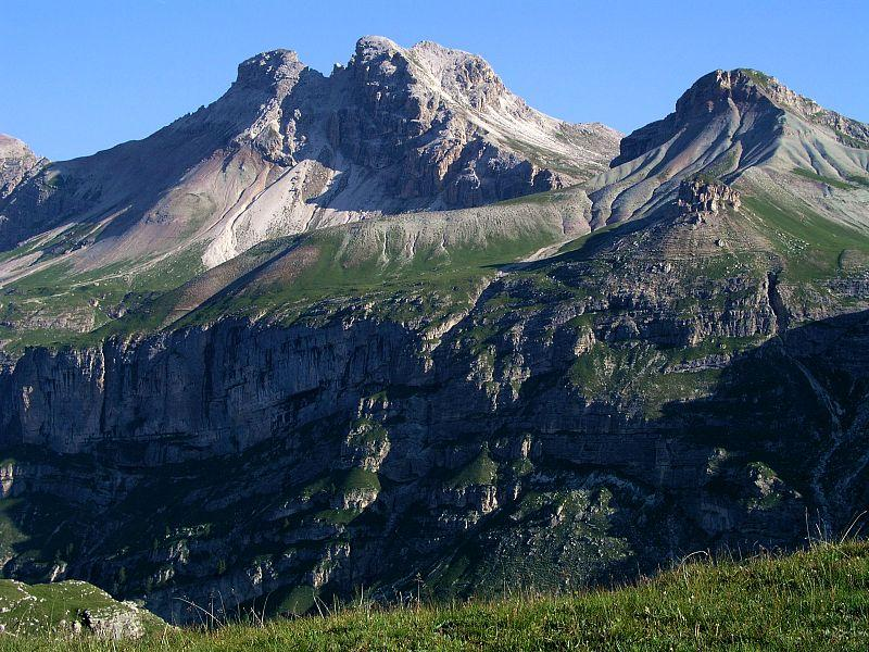 Western and Eastern Puezspitze