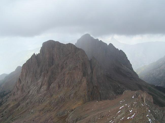 10 Sep 2004 - Turret Peak and...