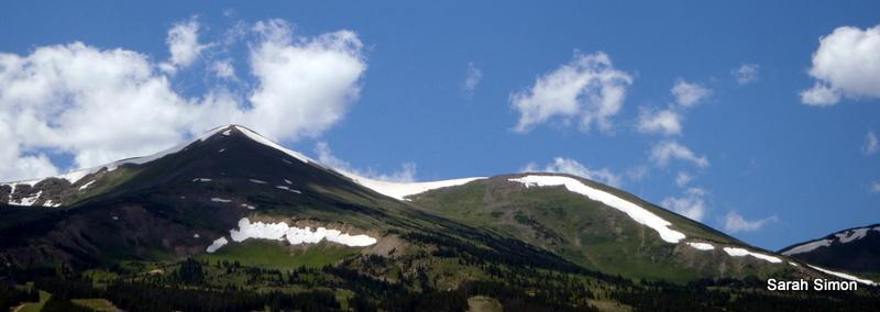 Peaks 8 and 7 from Breckenridge