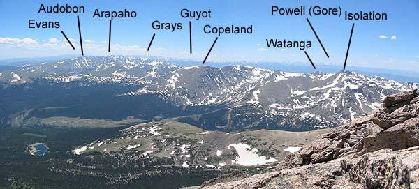 The Continental Divide from...