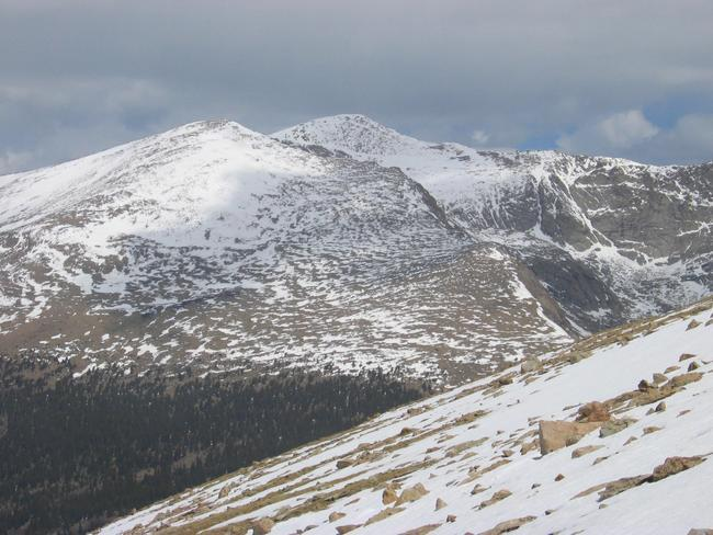 Mount Bierdstat from Kataka...