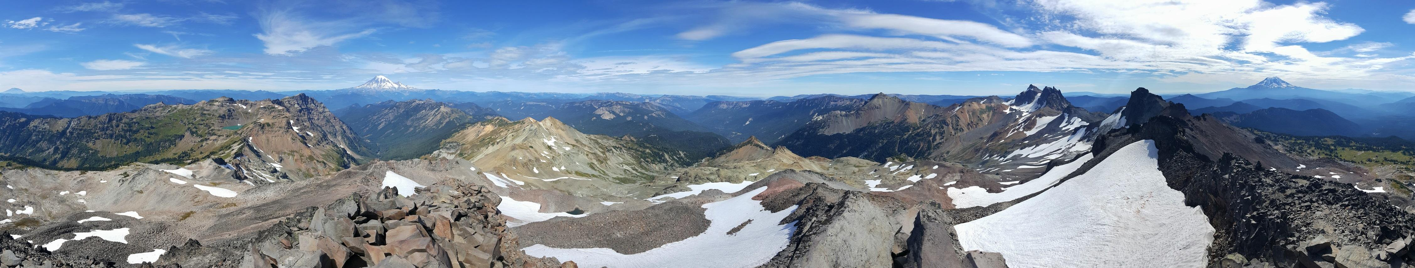 Old Snowy Summit Panorama