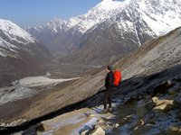 Kyanjin and Langtang valley...