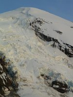 The Adams glacier, showing...