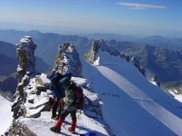 Summit ridge of Gran Paradiso