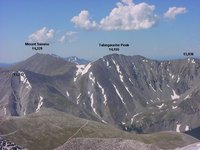 From Mt Antero's summit