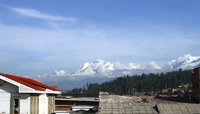 View of Huascaran and...