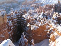 Bryce Canyon with a Blubird Sunrise and 6