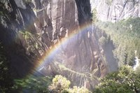 Rainbow by Vernal Falls