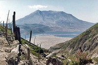 Mt St Helens and Spirit Lake