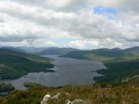 Loch Katrine from the summit of Ben A an