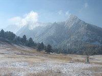 Flatirons In Winter