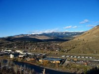 Looking north from Missoula