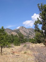 South Boulder Peak (far left,...