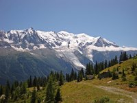 Mont Blanc Massif N Side