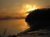 Siuslaw River, Florence, OR @ sunrise