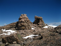 Towers on Mount Rearguard