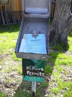 Hiking Permits Box