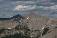 Black Peak and Antoinette Peak 2