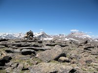 Rosalie Peak Summit Cairn