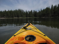 kayaking on Antelope Lake