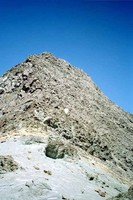 Cerro Illumani, a big pile of...