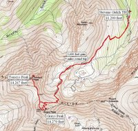 Stevens Gulch TH route.