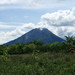 Gunung Sinabung from close to the village of Lingga